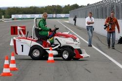 Journée des RP, Mountfield Cup on Tractors : Jennifer Murray
