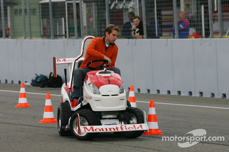 Journée des RP, Mountfield Cup on Tractors : Jeroen Bleekemolen