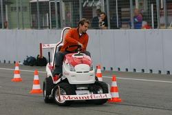 Journée des RP, Mountfield Cup on Tractors : Jeroen Bleekemolen