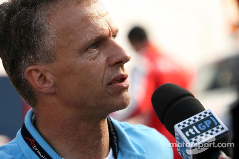 Jan Lammers, détenteur de l'équipe néerlandaise d'A1GP