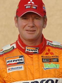 Team Repsol Mitsubishi Ralliart presentation in Paris: Pascal Maimon