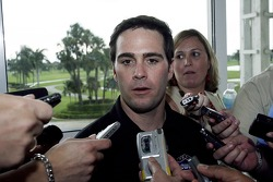 NASCAR Nextel Cup Chase contenders press conference, Doral Golf Resort & Spa, Miami: Jimmie Johnson