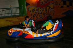 Cosmos World Theme Park, Kuala Lumpur: Tuka Rocha and Raphael Matos