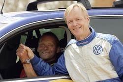 Volkswagen Motorsport test in Morocco: Kris Nissen and Ari Vartanen