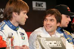 Marcus Gronholm and Sébastien Loeb