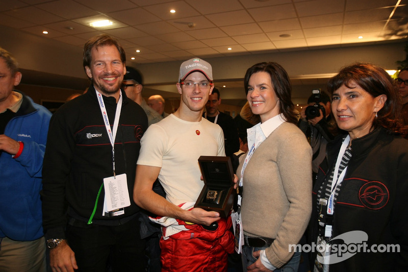 Michèle Mouton, Katarina Witt, Fredrik Johnsson and Sébastien Bourdais