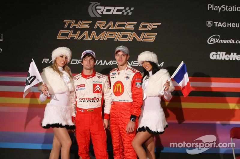 Team Playstation France: Sébastien Loeb and Sébastien Bourdais