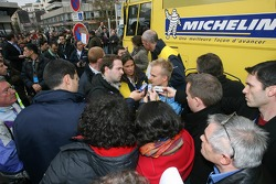 Michelin celebrates F1 World Titles in Clermont-Ferrand