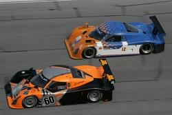 #60 Michael Shank Racing Lexus Riley: Mark Patterson, Oswaldo Negri, Helio Castroneves, Sam Hornish Jr., #12 RVO Motorsports Pontiac Riley: Roger Schramm, Jack Baldwin, Bill Lester