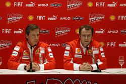 Mario Almondo and Stefano Domenicali