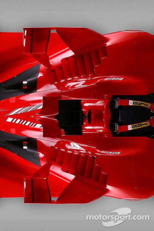Detalle del nuevo Ferrari F2007