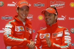 Press conference: Casey Stoner and Loris Capirossi