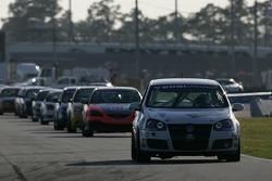 #113 GSM Motorsports Volkswagen GTI: Andrew Lewis, Tony Nuzzo
