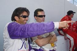 Christian Fittipaldi and Sascha Maassen