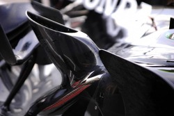 Detail of a Honda Racing F1 Team