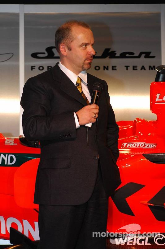 Entwicklungschef Mike Gascoyne, Spyker-Ferrari