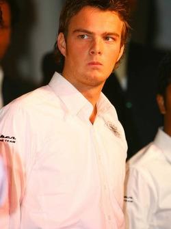 Giedo van der Garde, Spyker-Ferrari