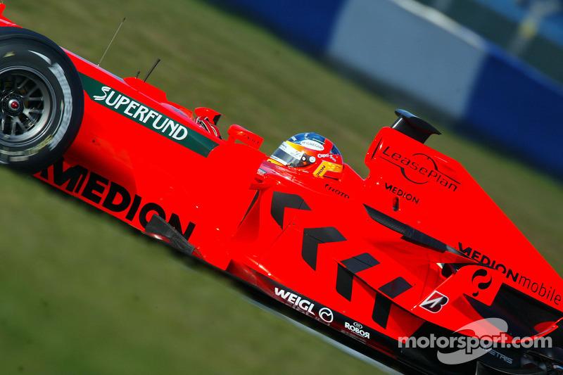 7 февраля 2007. Обкатка Spyker-Ferrari F8-VII