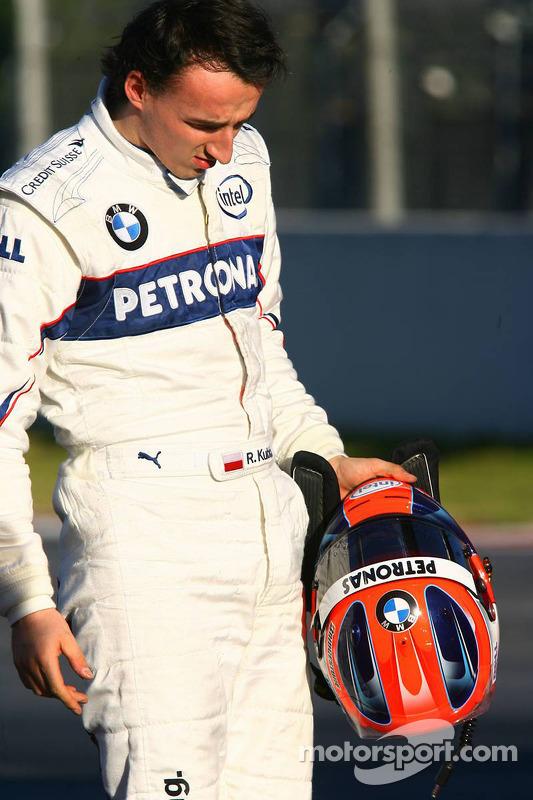 Zwischenfall: Robert Kubica, BMW Sauber F1.07
