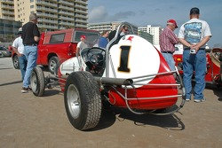Living Legends Parade on the beach