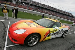 Chevy Corvette pace car for the Gatorade Duel