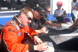 Michael McDowell, Rob Finlay and Bobby Labonte