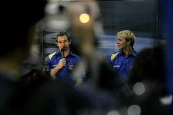 Subaru Impreza WRC2007 launch: Chris Atkinson and Petter Solberg