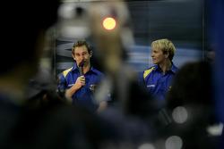 Lanzamiento Subaru Impreza WRC2007: Chris Atkinson y Petter Solberg