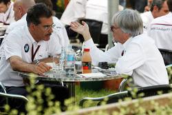 Mario Theissen and Bernie Ecclestone