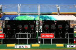 Honda Racing F1 Team, Pit Gantry