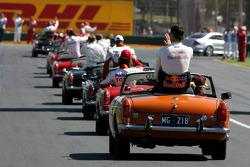 Drivers parade, David Coulthard, Red Bull Racing