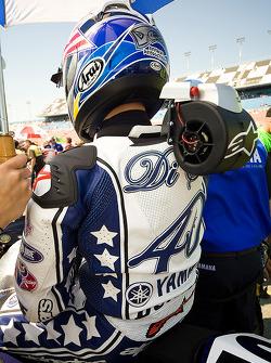 Jason Disalvo reste au frais avant la grande course