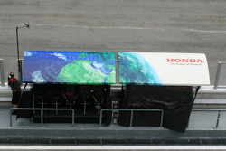 Honda pitwall