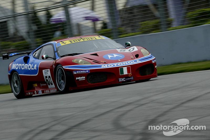 #50 AF Corse Motorola Ferrari 430 GT2: Toni Vilander, Dirk Muller