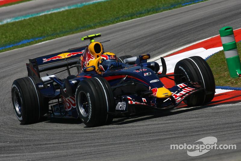 2007 год, раскраска Red Bull RB3