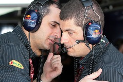 head of aerodynamics Ben Agathangelou and Rodi Basso