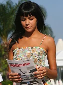Raquel Rosario Girlfriend of Fernando Alonso