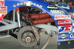Front brake assembly detail