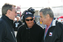 Johnny Rutherford, Kevin Blanch and Al Unser Sr.