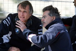 Charly Lamm, GER, Team Manager, BMW Team Germany Schnitzer Motorsport and Dr. Mario Theissen