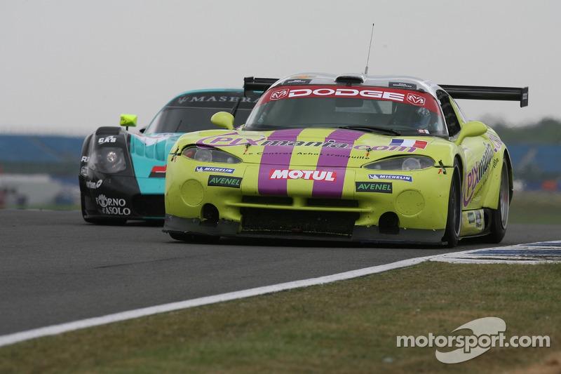 #102 Red Racing Viper GTSR: Sebastian Carcon, Thierry Stepec