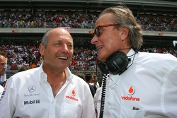 Ron Dennis, McLaren, Team Principal, Chairman and Mansour Ojjeh