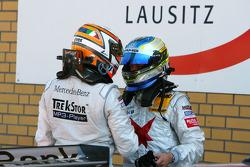 Daniel la Rosa, Mücke Motorsport AMG Mercedes and Alexandros Margaritis, Persson Motorsport AMG Mercedes