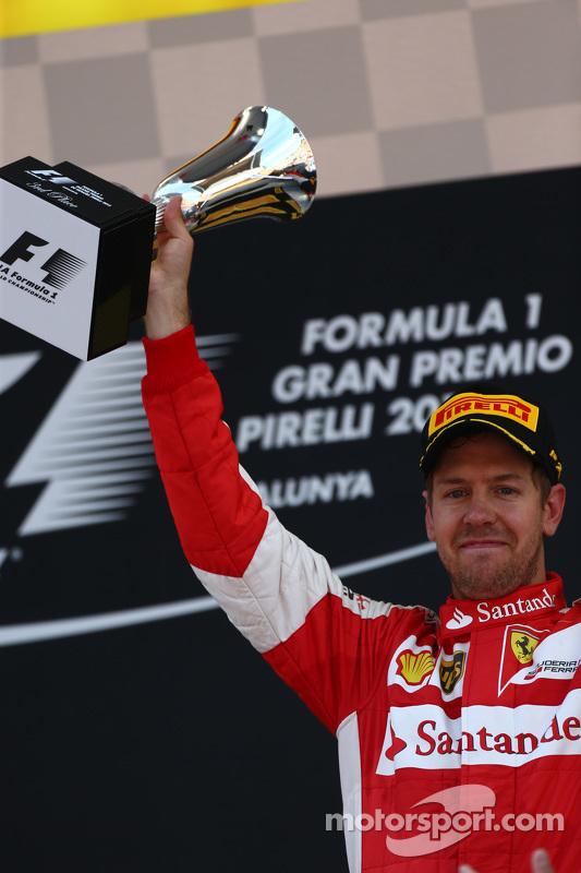 3. Sebastian Vettel, Ferrari