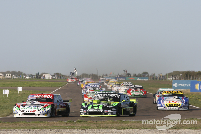 Juan Pablo Gianini, JPG Racing, Ford; Mauro Giallombardo, Maquin Parts Racing, Ford, und Mauricio Lambiris, Coiro Dole Racing, Torino