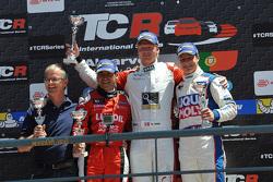 Перше місце - Нікі Тім, Audi TT, Liqui Moly Team Engstler, друге місце - Хорді Жене, SEAT Leon, Craft Bamboo Racing LUKOIL та третє місце -  Лоренцо Велья, SEAT Leon, Liqui Moly Team Engstler