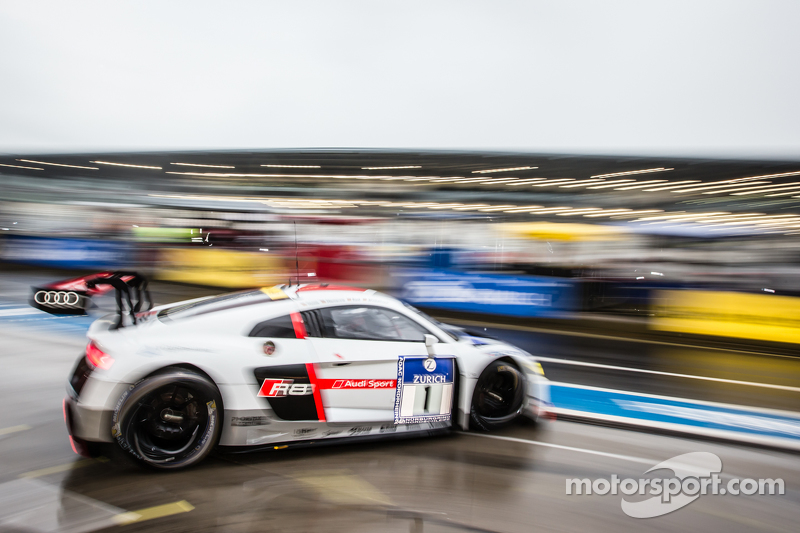 #1 Phoenix Racing, Audi R8 LMS: Christopher Haase, Christian Mamerow, René Rast, Markus Winkelhock
