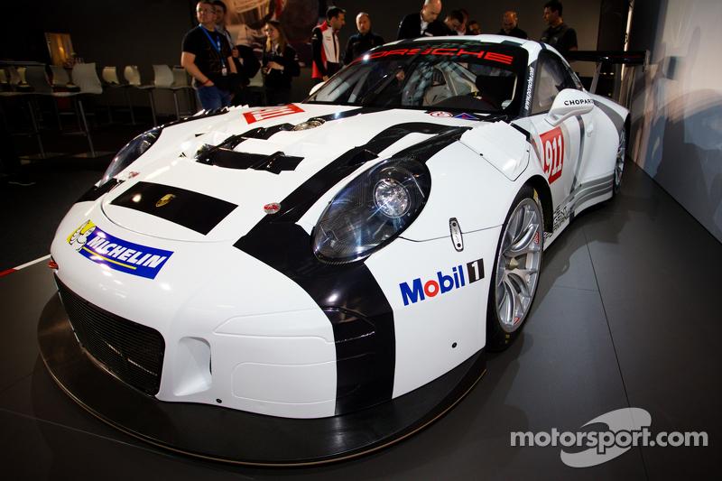 Porsche 911 GT3 R presentation: the new Porsche 911 GT3 R