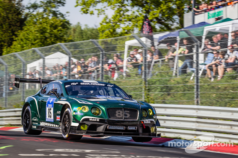 #85 Bentley Team Bentley Continental GT3: Guy Smith, Steven Kane, Andy Meyrick, Lance David Arnold