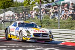 #22 Rowe Racing Mercedes-Benz SLS AMG GT3 : Maro Engel, Jan Seyffarth, Renger van der Zande, Thomas Jäger